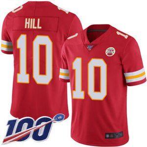 Men's Chiefs Tyreek Hill 100th Season Jersey